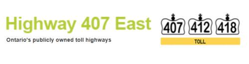 Highway 407 412 418
