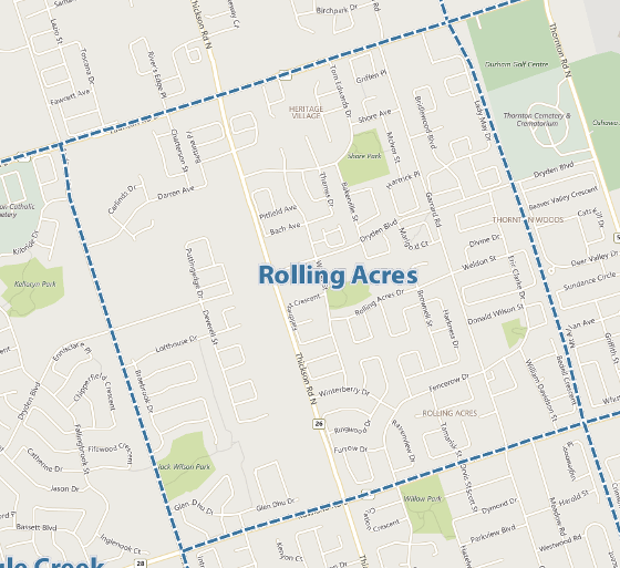 Rolling Acres Whitby MLS