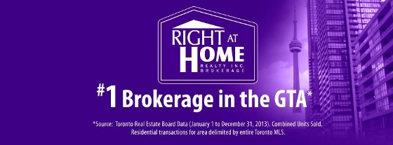 Right at Home Realty Inc., Brokerage logo